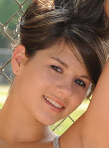 Shyla Loves To Flash Her Perky Tits In Public Places Like The Baseball Field At The Park - Picture 9