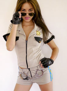 Officer Jennings Will Arrest You With Her Beauty As She Shows Off Her Perky Tits - Picture 3
