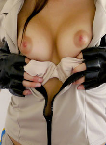 Officer Jennings Will Arrest You With Her Beauty As She Shows Off Her Perky Tits - Picture 6
